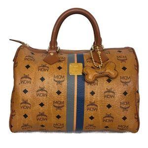 MCM Brown Boston Hand Bag